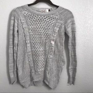 Grey sweater from the brand SO!